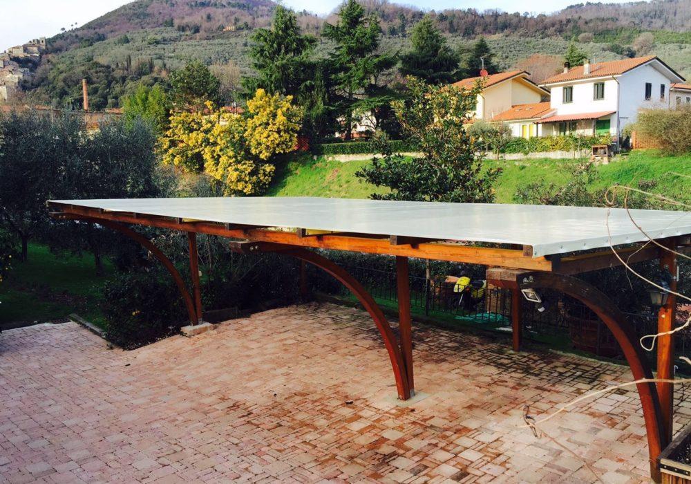 carport legno