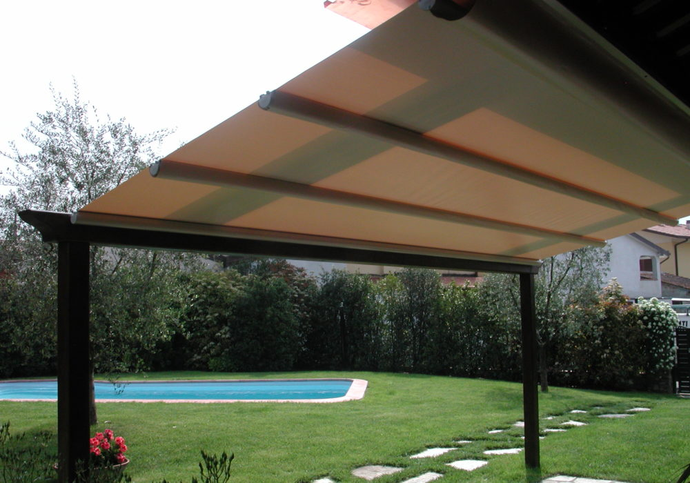 pergola soffitto apribile
